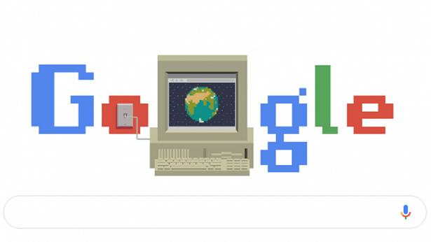 Google homenageia 30 anos da invenção da rede mundial de computadores - tecnologia, mundo, internet