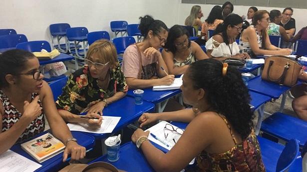 SAJ: Secretaria de Educação promove 2° encontro de capacitação de gestores escolares - saj, educacao
