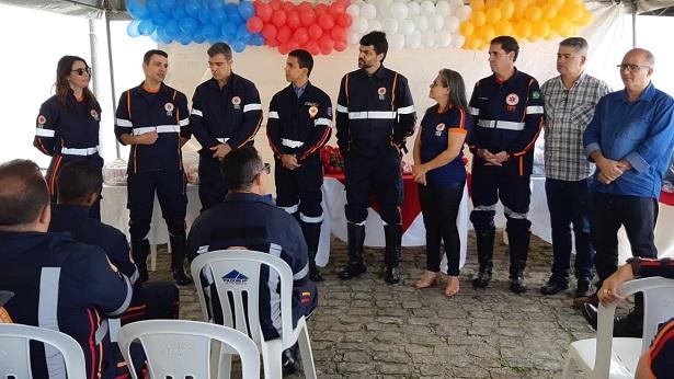 SAJ: Prefeitura entrega novos fardamentos no aniversário do SAMU 192 - saj, politica