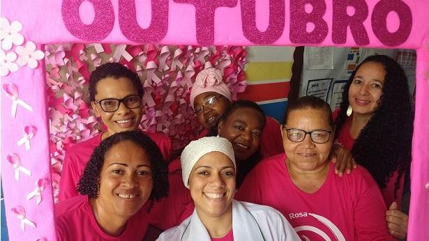 SAJ: Unidades de Saúde da zona rural promovem ações para Campanha Outubro Rosa - saj