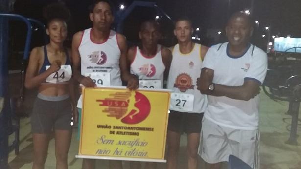 Atletas santoantonienses se destacam na Corrida Gavião Night em Jequié - saj, esporte, destaque, cachoeira