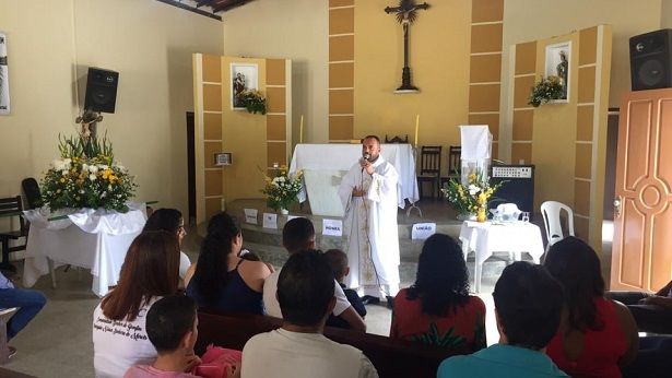 SAJ: Comunidade do Bonfim realiza festa do seu padroeiro - saj, noticias, catolico