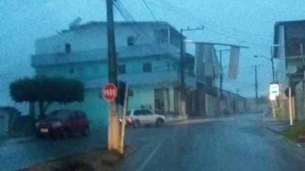 Amargosa: Temporal deixa ruas alagadas - noticias, destaque, amargosa