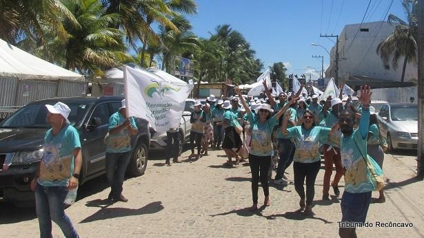 Valença: JNL da RCC é concluído com sucesso na Praia de Guaibim - valenca, noticias, destaque