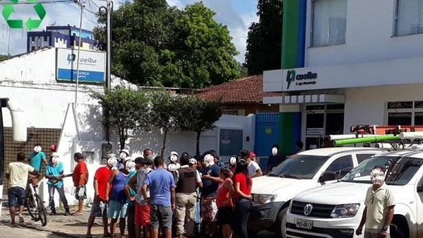 Valença: Moradores da zona rural fazem protesto contra a falta de energia - valenca, destaque