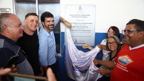 SAJ: Prefeitura inicia ano letivo com mais uma escola reformada - saj, educacao