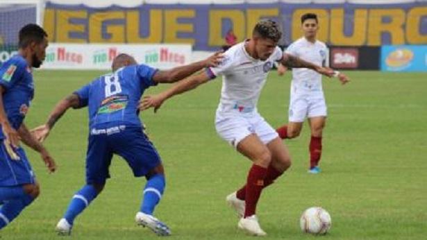 De virada, Bahia vence o Jacobina e assume liderança do Baianão - esporte