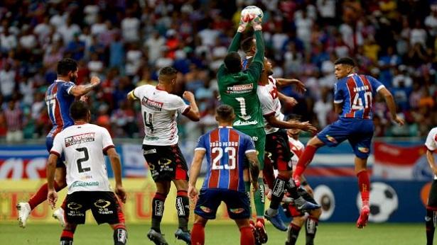 Bahia e Vitória podem ser multados por violação de regras contra a Covid-19 - esporte
