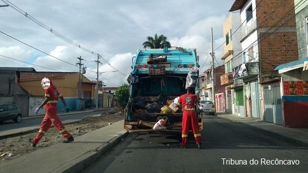 SAJ: Informação importante sobre a coleta de lixo nesta sexta-feira, 10 - saj