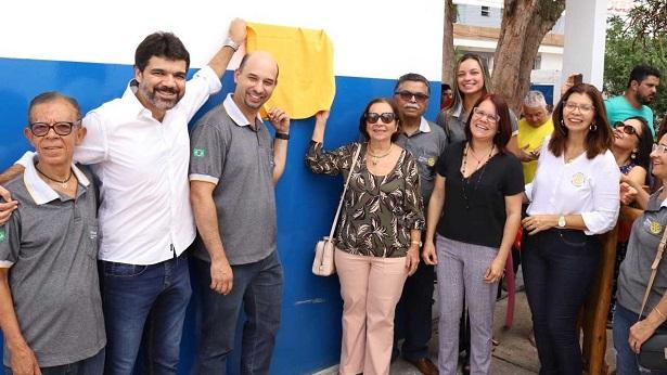 SAJ: Prefeitura e Rotary comemoram parceria em retorno das atividades de escola municipal - saj, noticias