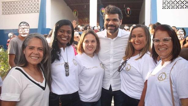 SAJ: Escola Isaías Alves é entregue totalmente reformada - saj