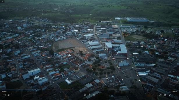 Drone registra ruas de Santo Antônio de Jesus vazias - saj, noticias, destaque