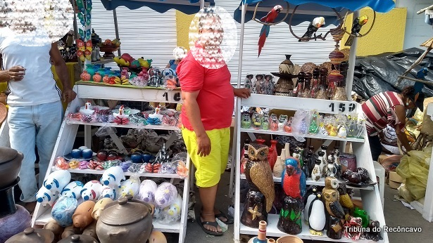Nazaré: Por causa do coronavírus, Feira de Caxixis é adiada e fica sem data - nazare, destaque