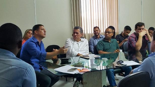 Valença: Representantes de saúde discutem ações conjuntas contra o coronavírus - valenca