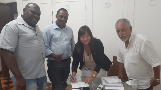 Maragogipe: Fernando Nery se filia ao PCdoB e confirma pré-candidatura a prefeito - maragojipe, destaque