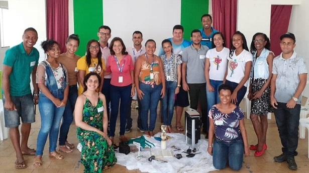 Pastoral da Comunicação realiza formação em Mutuípe - noticias, mutuipe
