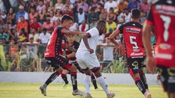 Pelo Campeonato Baiano, Jacuipense bate o Vitória na Arena Valfredão - esporte
