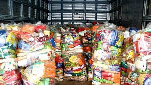 Cruz das Almas: Prefeitura distribui cestas básicas para famílias de alunos de creches - noticias, cruz-das-almas