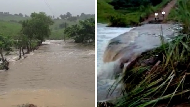 Dom Macedo Costa: Devido as chuvas, pontes são levadas pela água - noticias, dom-macedo-costa, destaque
