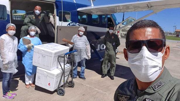 Aeronaves da PM atuam na prevenção e controle da Covid-19 - noticias, bahia