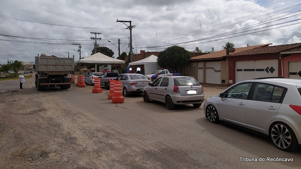 SAJ: Barreira sanitária da Avenida ACM passa a funcionar 24h - saj, noticias