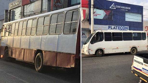 SAJ: Veículos com passageiros de outras cidades são barrados na Feira Livre - saj, noticias