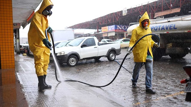 SAJ: Prefeitura realiza higienização da Feira Livre - saj, noticias