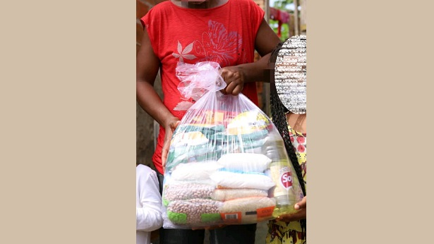 SAJ: Prefeitura entrega cestas básicas e kit's no Alto Santo Antônio nestas quarta e quinta - saj, destaque