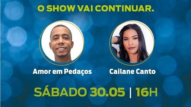 Castro Alves: Vai ter live de Amor em Pedaços e Cailane Canto; saiba como assistir - noticias, castro-alves