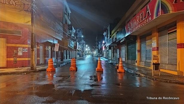 SAJ: Ruas são fechadas para auxiliar na organização de filas em lotéricas e bancos - saj, destaque