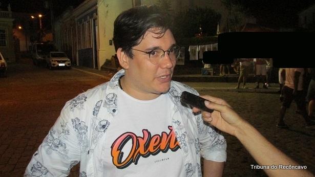 Muritiba: Escritor Edgard Abbehusen participa de mesa principal da Flica - noticias, muritiba, flica-2018, educacao, destaque, cachoeira
