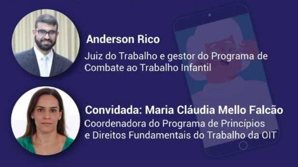 Live debate combate ao trabalho infantil e os 30 anos do ECA: perspectivas pré e pós-pandemia - brasil