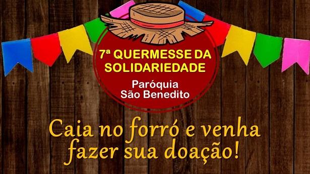 SAJ: É neste domingo (21) a Live da Quermesse da Paróquia São Benedito - saj
