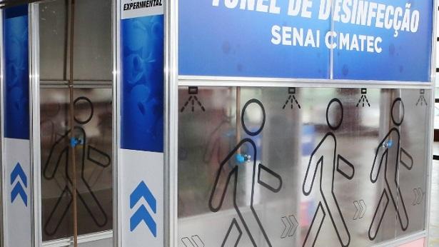 Amargosa: Hospital recebe túnel de desinfecção contra o coronavírus - noticias, destaque, amargosa