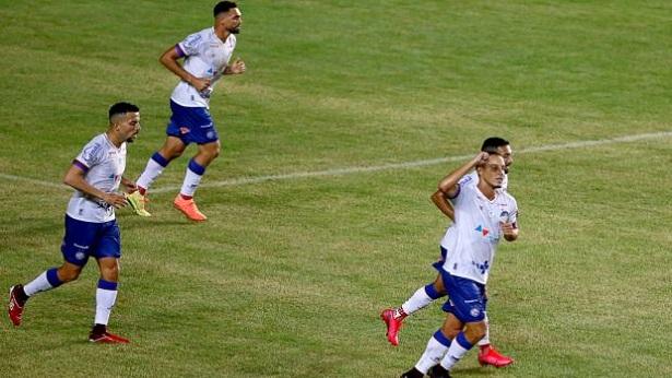 Bahia volta ao futebol com goleada sobre o Náutico em Pituaçu - esporte