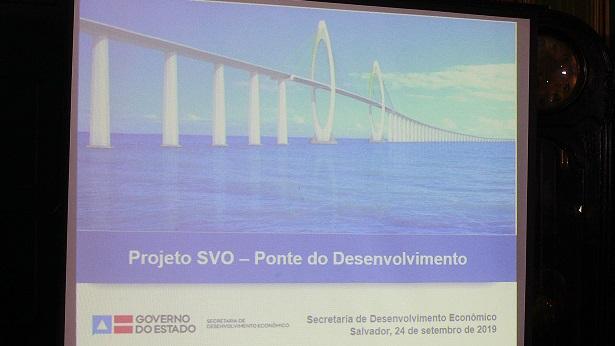 Assinatura do contrato da ponte Salvador - Itaparica ocorre em novembro - itaparica, bahia