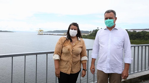 Maragogipe: Governo do estado entrega ponte e trecho de rodovia - maragojipe