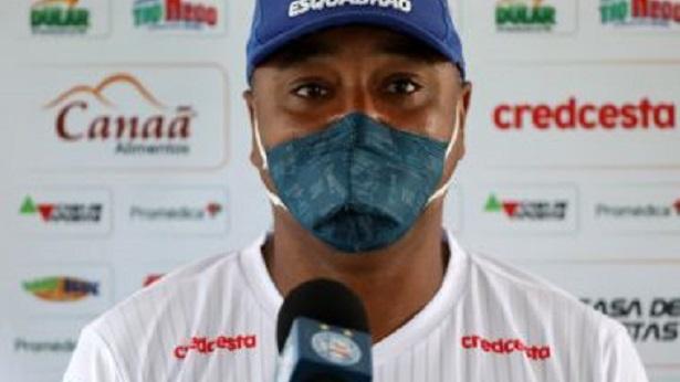 Roger aprova retorno do Bahia e faz elogios a Élber: 'Vive um grande momento' - esporte