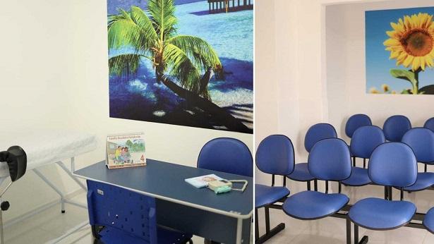 SAJ: Após reforma, Unidade de Saúde da Família do Alto do Morro é entregue - saj