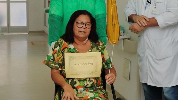 Itagibá: Moradora de Japumirim recebe alta após ser curada de Covid-19; família faz campanha - saj, noticias, japumirim, itagiba