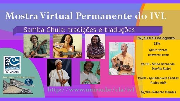 """RECÔNCAVO: Acontece nessas quinta e sexta o """"Samba chula: tradições e traduções"""" - noticias, entretenimento"""