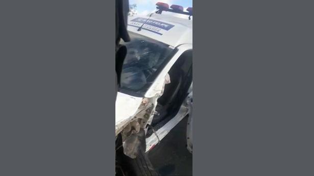 Ambulâncias de São Felipe se envolvem em acidente; Câmara cobra esclarecimentos do município - sao-felipe, noticias, destaque