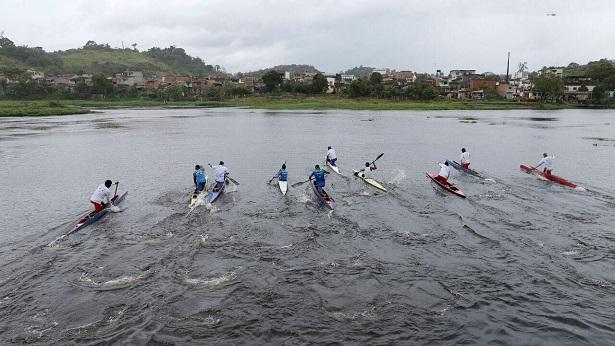 Alunos de projeto Remando no Litoral Sul participam de campeonato brasileiro de canoagem, em Brasília - ubata, ubaitaba, noticias, marau, itacare, esporte, bahia