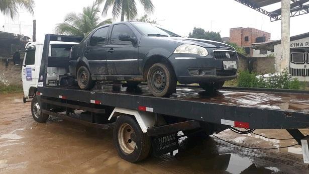 SAJ: SMTT e Polícia Militar recuperam veículo roubado - saj, noticias, destaque, bahia