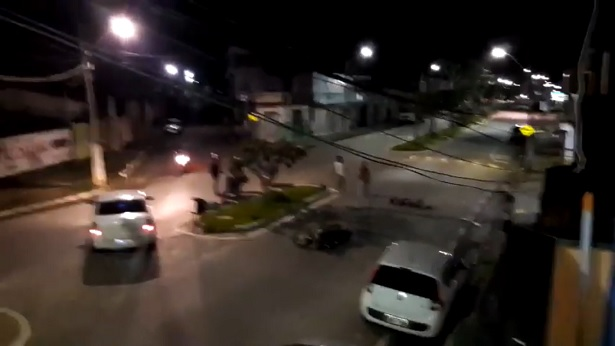Amargosa: Colisão entre motocicletas deixa feridos na Avenida Abelardo Veloso - amargosa, transito