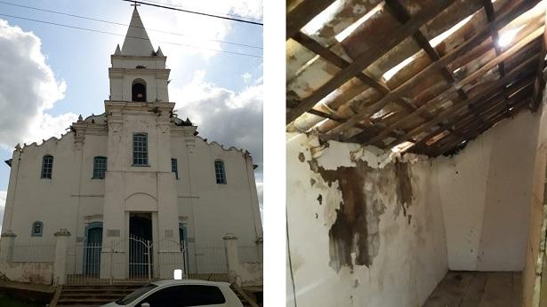 Comunidade de Santana do Rio da Dona realiza campanha para reformar telhado de igreja - noticias, destaque, conceicao-do-almeida