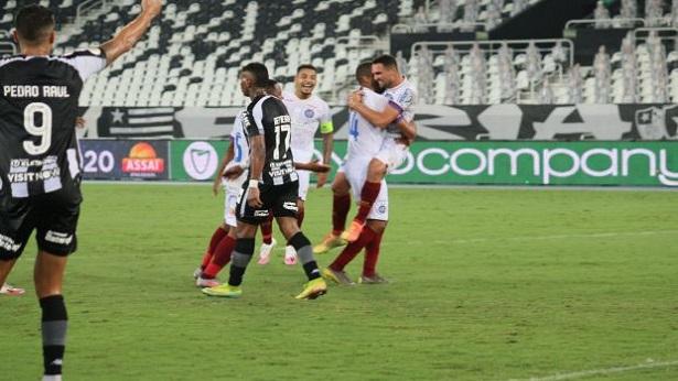 Com gols de Gilberto e Élber, Bahia vence o Botafogo e encerra longo jejum - noticias, esporte