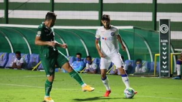Bahia sai atrás, mas consegue arrancar empate com o Goiás nos acréscimos - esporte