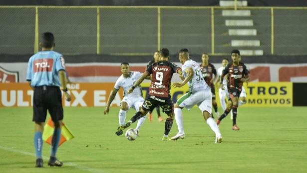 Vitória empata com o Guarani no Barradão e completa seis jogos sem vencer - esporte