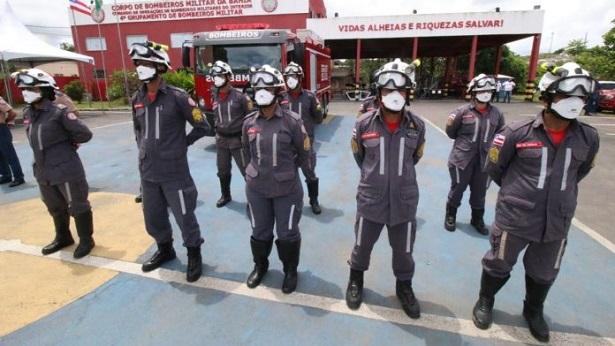 Itabuna: Sede do grupamento de bombeiros é reinaugurada após reforma - noticias, itabuna, bahia